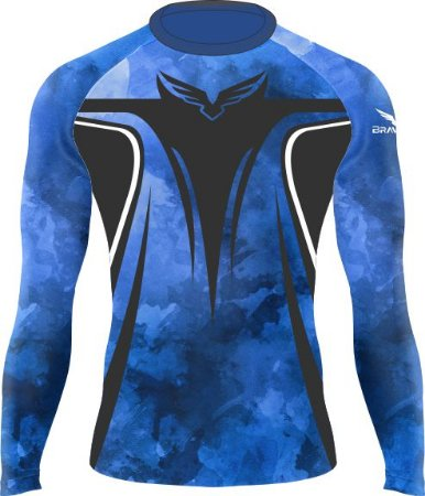 Rashguard - Judô - Faixa Azul