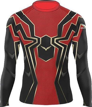 Rashguard - Kids - Homem Aranha