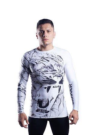 Rashguard - Lion - Branca