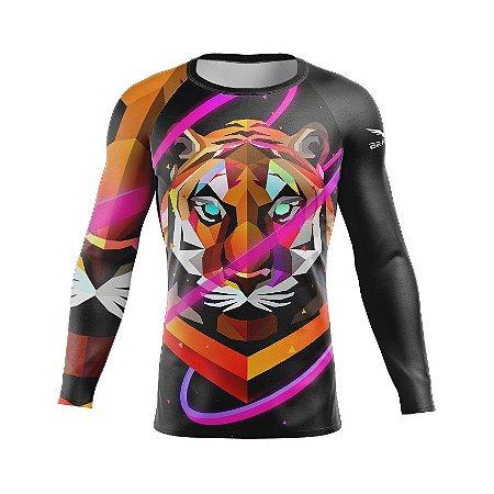 Rashguard - Polygon Tiger - Preta