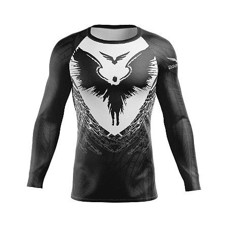 Rashguard - Wings - Preta