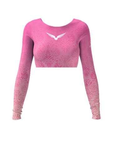 Cropped - Gradient - Rosa