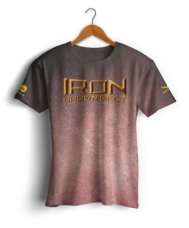 Camiseta Copa Podio - Iron Brown Belt - Marrom