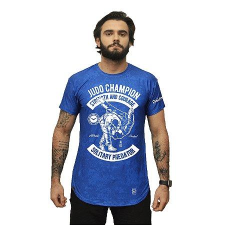 Camiseta - Judo Champion - Azul