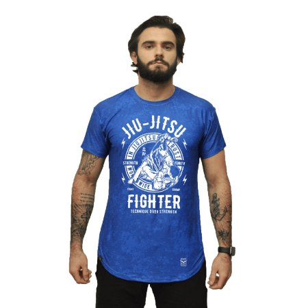Camiseta - Fighter - Azul