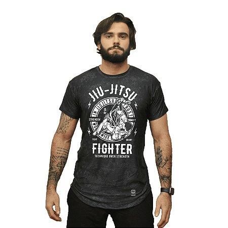 Camiseta - fighter - Preta