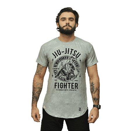 Camiseta - jiu-jitsu - cinza