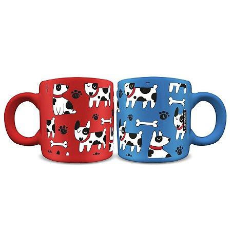 Conjunto Mini Canecas Dogs