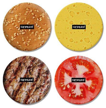 Porta Copos Hamburger