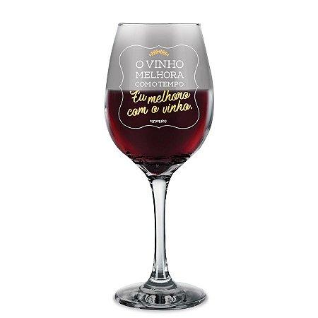 Taça de Vinho Melhor com Vinho