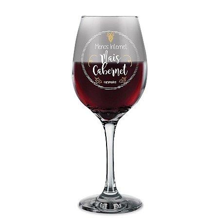 Taça de Vinho Mais Cabernet