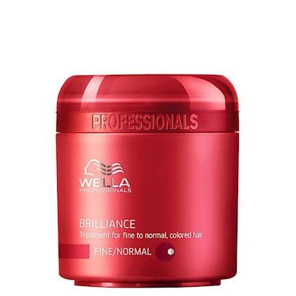Wella Professionals Brilliance Fine to Normal Hair - Máscara Capilar 150ml