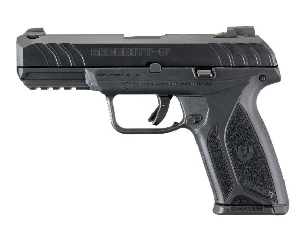 PISTOLA RUGER SECURITY 9 CAL. 9MM OXIDADA 15+1 TIROS