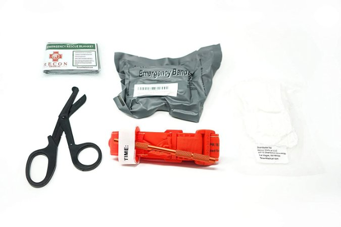 KIT PRIMEIROS SOCORROS APH RECON MEDICAL TATICO