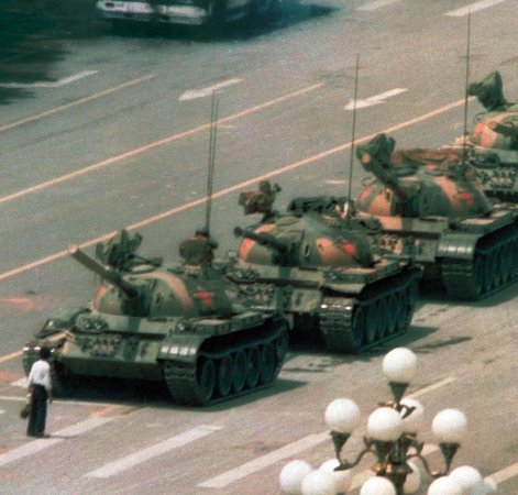 Mouse Pad - Tank Man