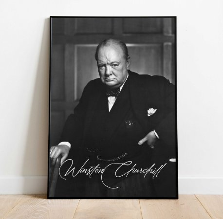 Pôster Winston Churchill