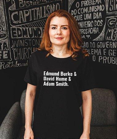 Edmund Burke, David Hume e Adam Smith - Masculina