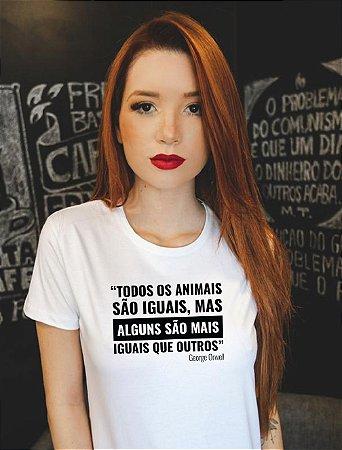 Todos os animais são iguais - Feminina