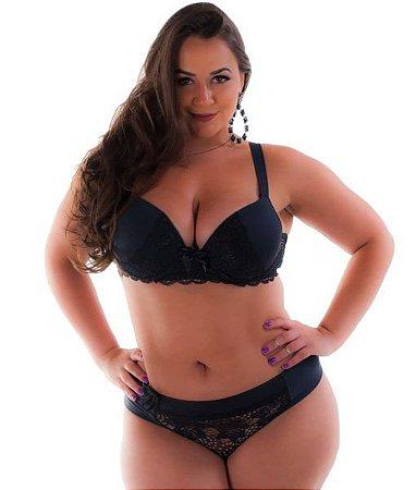 afeaff12e Conjunto Lingerie Plus Size com Renda - Conjuntos de lingeries ...