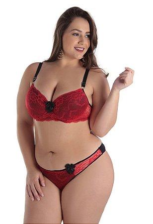1355f9f6b Conjunto Lingerie Plus Size com Bojo - Conjuntos de lingeries ...