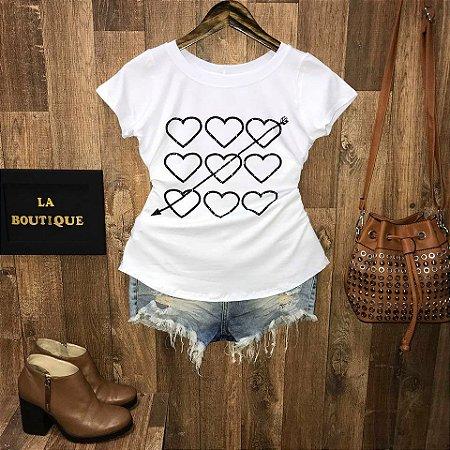 T-shirt Arrowed Heart
