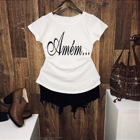 T-shirt Amém Linda