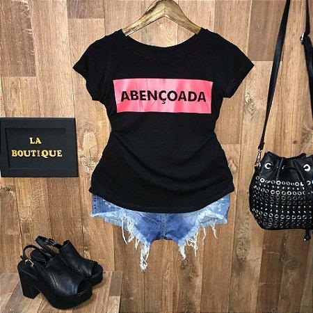T-shirt Board Abençoada