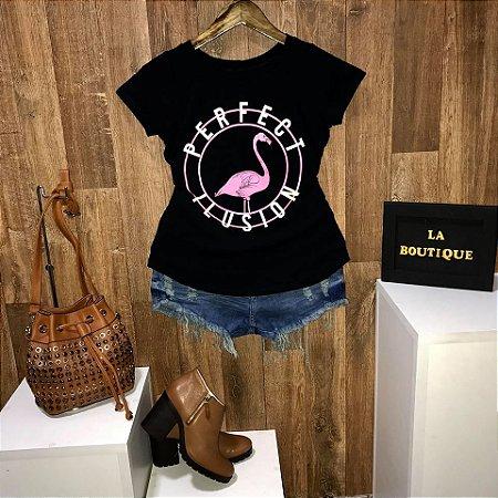 T-shirt Flamingo Perfect Ilusion