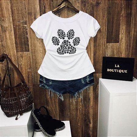 T-shirt Patinha de Cachorro
