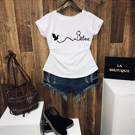 T-shirt Bird Believe