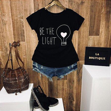 T-shirt Be The Light Seja Luz