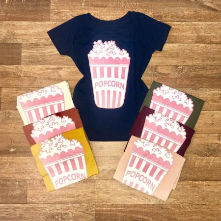 T-shirt Pipoca