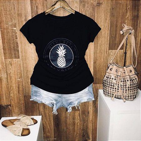 T-shirt Abacaxi Miami