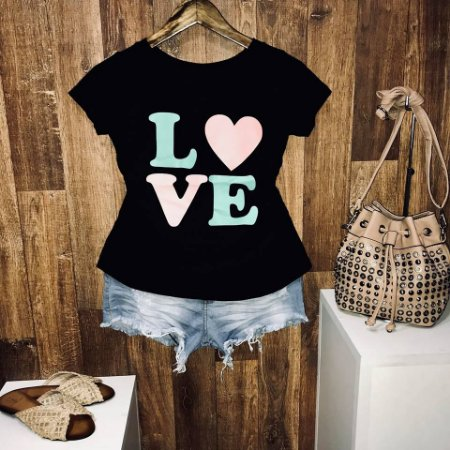 T-shirt Love Color Heart