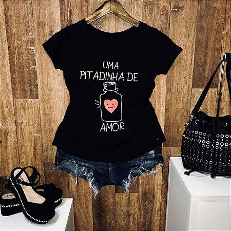 T-shirt Linda Uma pitadinha de Amor