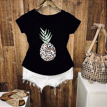 T-shirt Abacaxi Onça