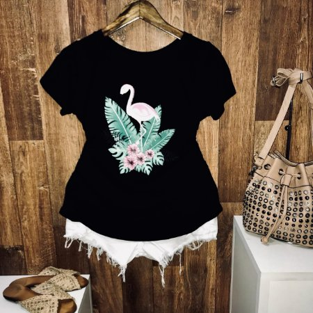T-shirt Flamingo Tropical