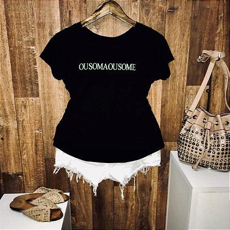 T-shirt Ou Soma Ou Some