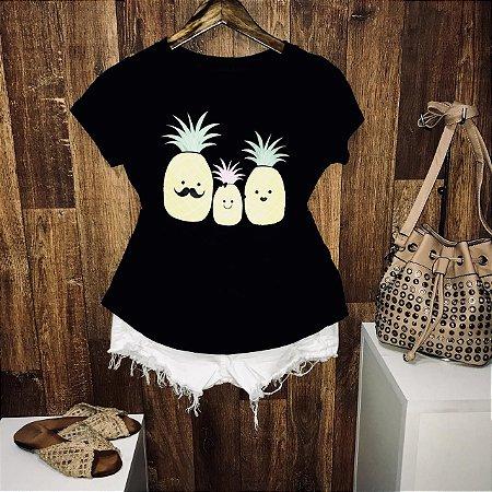 T-shirt Família Abacaxi