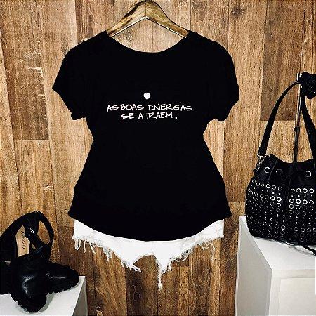 T-shirt As Boas Energias se Atraem