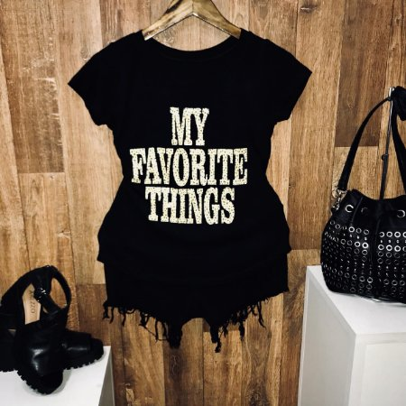 T-shirt My Favorite Things Animal Print
