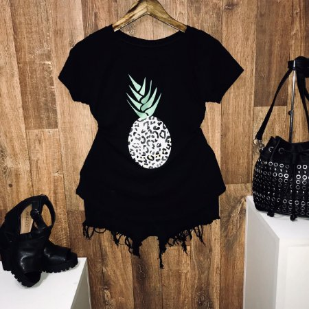 T-shirt Abacaxi New Style