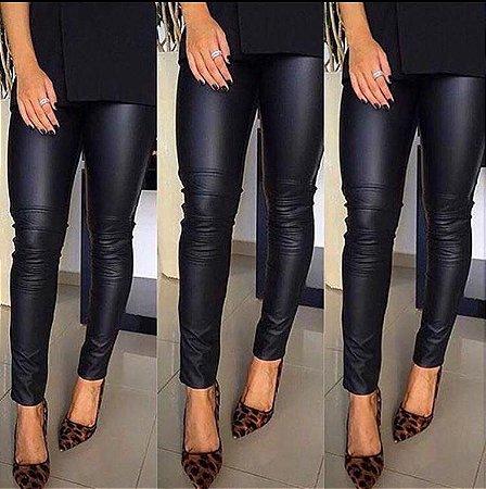 57e8875b4 Calça Couro Fake Black - La Boutique Modas