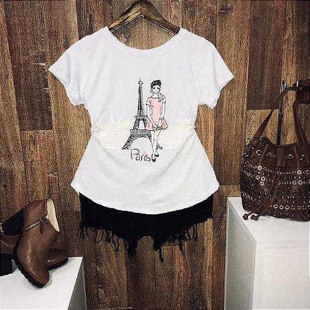 T-shirt  Girl in Paris