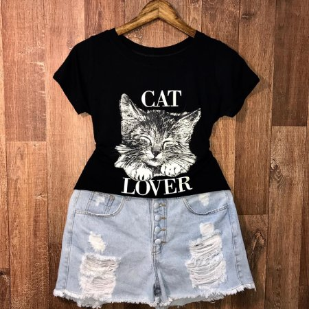 T-shirt  Cat Lover