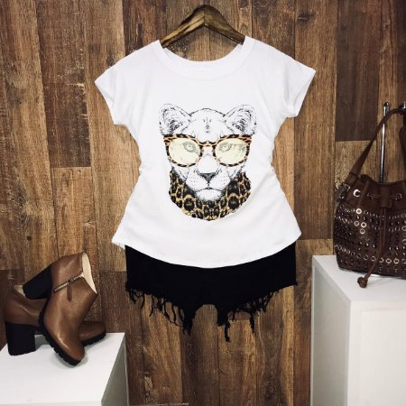 T-shirt Lioness Scarf