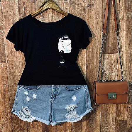 T-shirt Bolsinho Thing