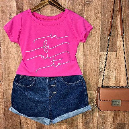 T-shirt Infinito Linda