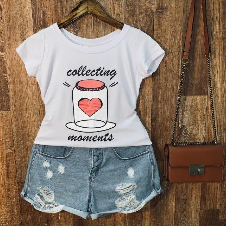 T-shirt Collecting Moments