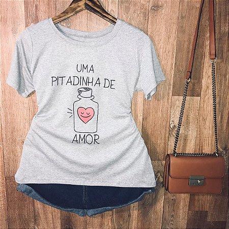 Camiseta Linda Uma pitadinha de Amor